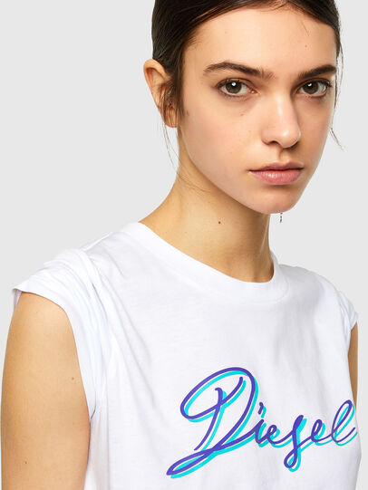 Diesel - T-SILY-K10, Blanc - T-Shirts - Image 3