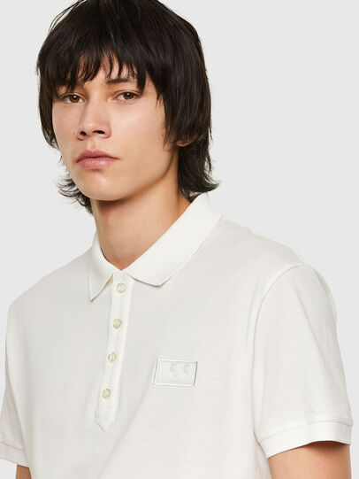 Diesel - T-WEET-E1, Blanc - Polos - Image 3