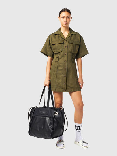 Diesel - SOFHIA, Black - Shopping and Shoulder Bags - Image 7