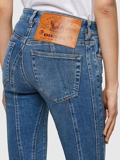 Diesel - Slandy 009QS, Blu Chiaro - Jeans - Image 3