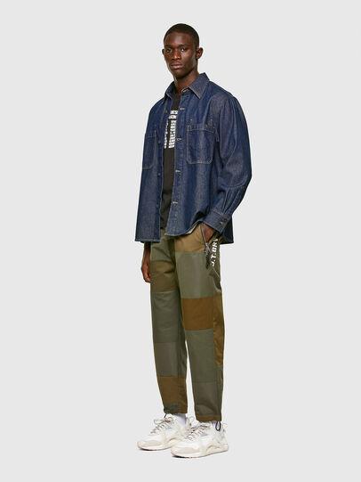 Diesel - D-RAPP, Bleu Foncé - Chemises en Denim - Image 6