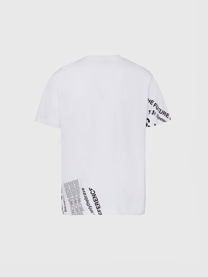 Diesel - T-JUST-FOLDED, Weiß - T-Shirts - Image 2