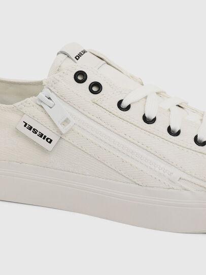 Diesel - S-ASTICO LOW ZIP W, Weiß - Sneakers - Image 4