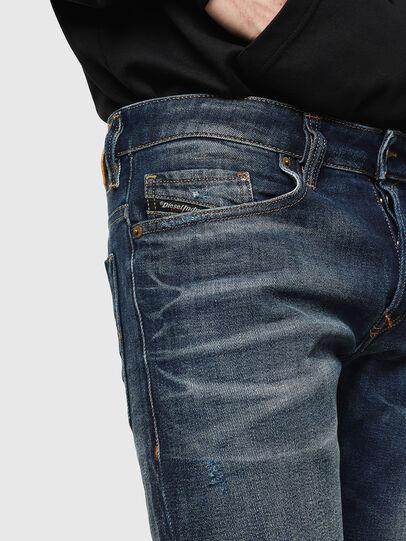 Diesel - Safado 0096U, Dunkelblau - Jeans - Image 3