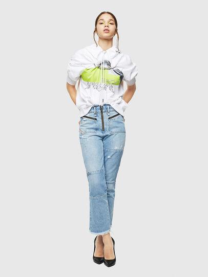 Diesel - F-ALBYHOOK, Weiß - Sweatshirts - Image 6