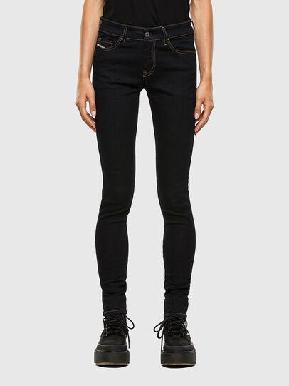 Diesel - Slandy 009CW, Dark Blue - Jeans - Image 1