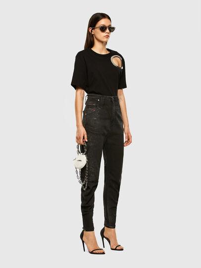 Diesel - D-Plata JoggJeans® 009DS, Schwarz/Dunkelgrau - Jeans - Image 5