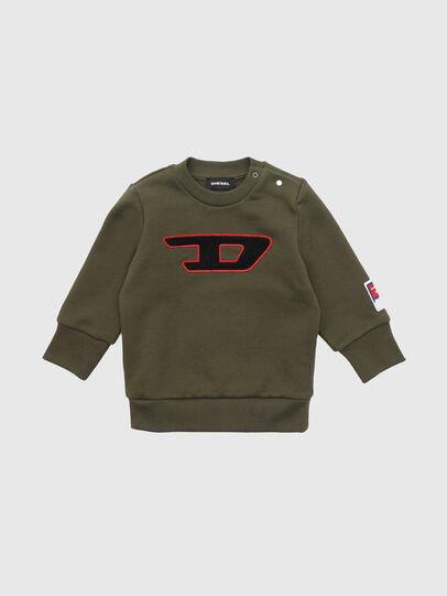 Diesel - SCREWDIVISIONB-D, Armeegrün - Sweatshirts - Image 1