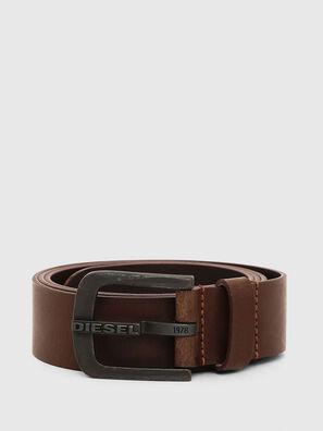 B-DART, Braunes Leder - Gürtel