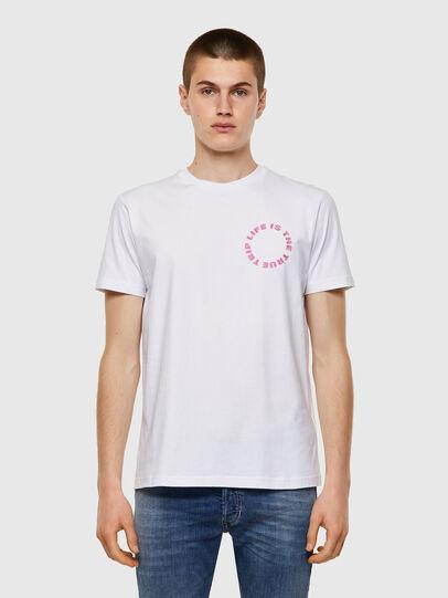 Diesel - T-DIEGOS-B7, Blanc - T-Shirts - Image 1