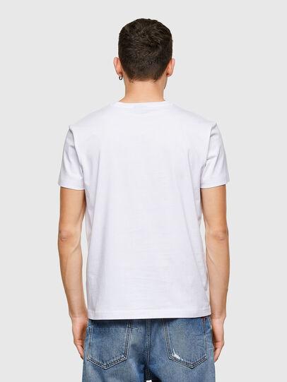 Diesel - T-DIEGOS-E30, White - T-Shirts - Image 2