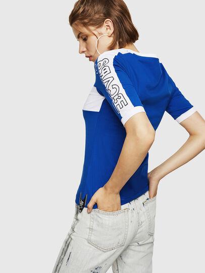 Diesel - T-HEIA-B, Brillantblau - T-Shirts - Image 2