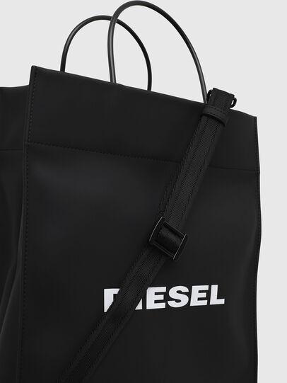 Diesel - SAKETTONE, Schwarz - Shopper und Schultertaschen - Image 4