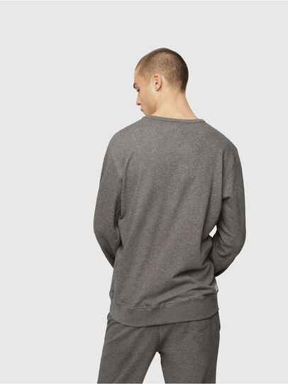 Diesel - UMLT-WILLY, Grau Meliert - Sweatshirts - Image 2