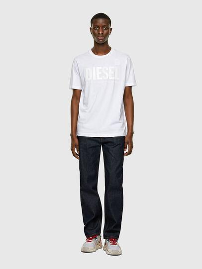 Diesel - T-JUST-INLOGO, Blanc - T-Shirts - Image 4