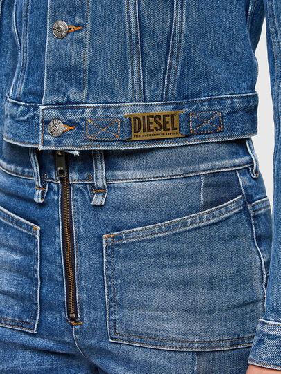 Diesel - DE-LIMMY, Mittelblau - Denim jacken - Image 4