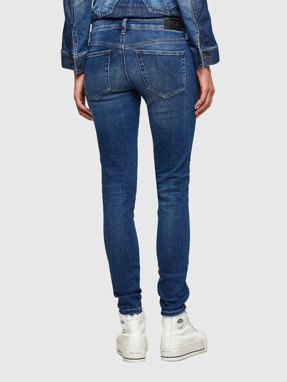 Diesel - Slandy Low 009PU, Bleu moyen - Jeans - Image 2