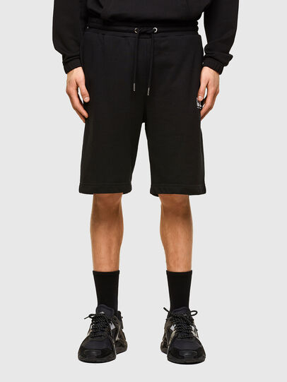 Diesel - P-CROWN-LOGO, Nero - Shorts - Image 1