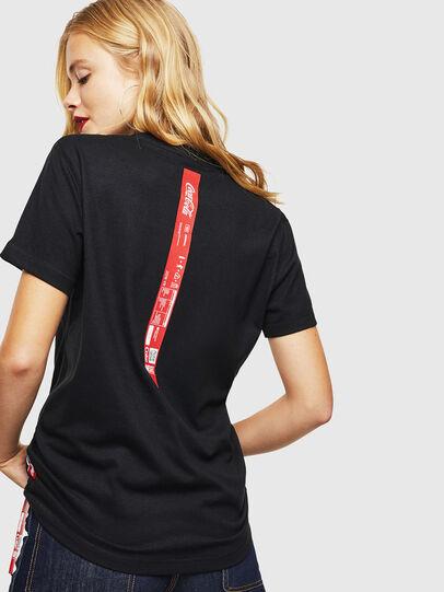 Diesel - CC-T-DIEGO-COLA, Schwarz - T-Shirts - Image 4