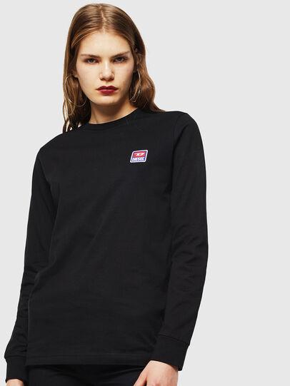 Diesel - T-DIEGO-DIV-LS, Schwarz - T-Shirts - Image 2