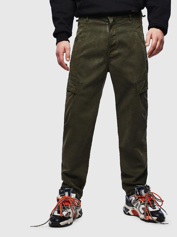 D-Krett JoggJeans 069LX, Armeegrün - Jeans