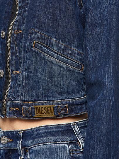 Diesel - DE-BLONDY, Dunkelblau - Denim jacken - Image 3