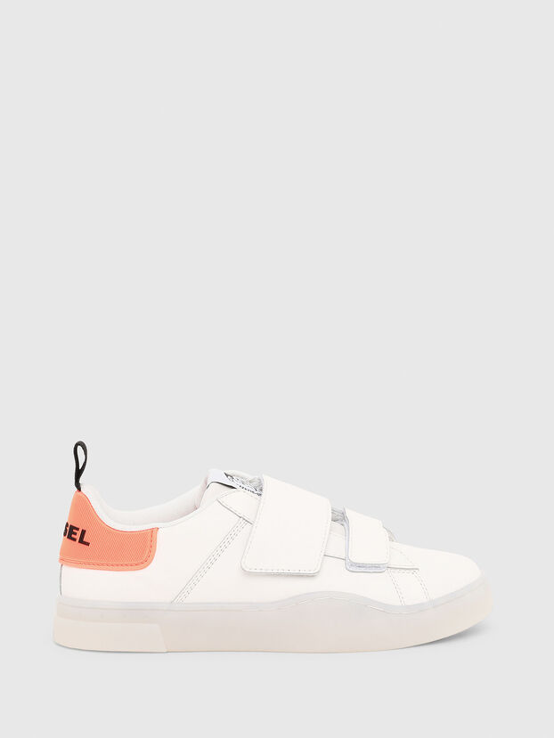 S-CLEVER LOW STRAP W, Weiß/Rosa - Sneakers