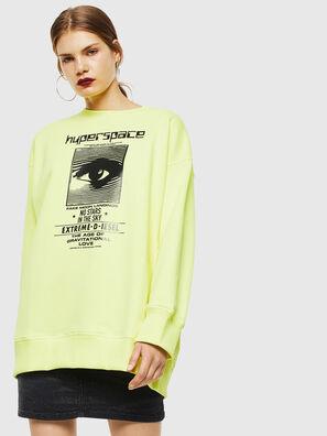 F-AKUA, Neongelb - Sweatshirts