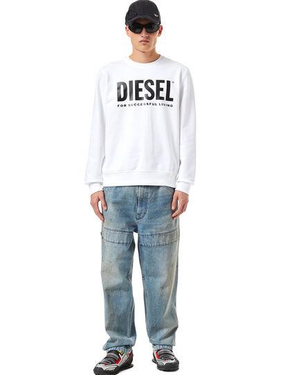 Diesel - S-GIRK-ECOLOGO, Weiß - Sweatshirts - Image 4