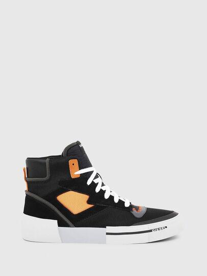 Diesel - S-DESE MS, Schwarz/Orange - Sneakers - Image 1