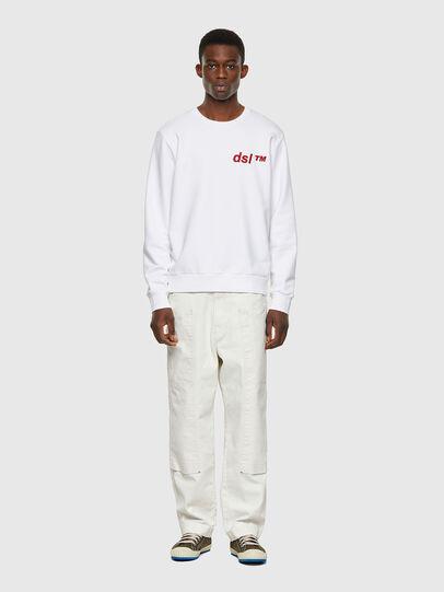 Diesel - S-GIRK-B3, Weiß - Sweatshirts - Image 4