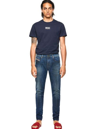 Diesel - D-Strukt JoggJeans® 069WR, Blu Scuro - Jeans - Image 5
