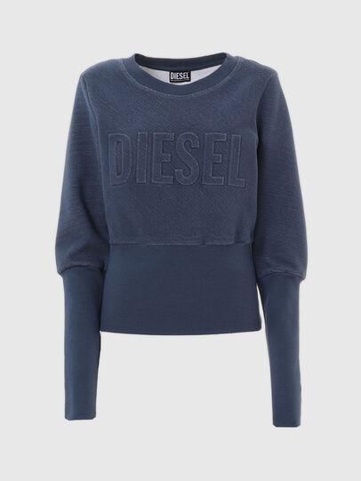 Diesel - UFLT-WILLAS-DW, Blau - Sweatshirts - Image 4