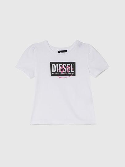 Diesel - TRIDGEB-R, Weiß - T-Shirts und Tops - Image 1