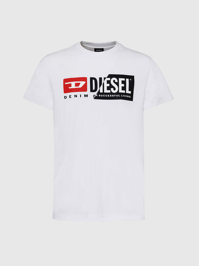 Diesel - T-DIEGO-CUTY, White - T-Shirts - Image 1