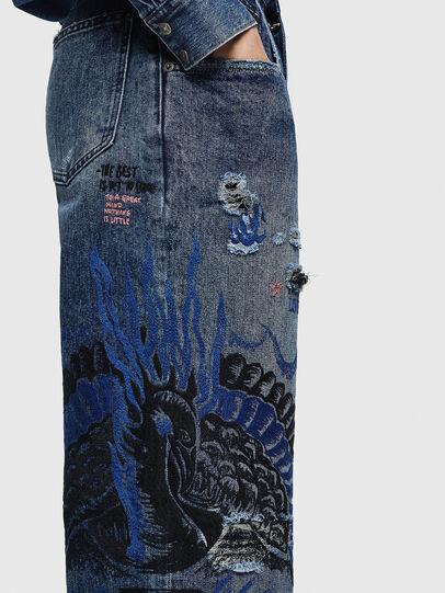 Diesel - Widee 0092Z, Mittelblau - Jeans - Image 6