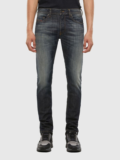 Diesel - Thommer 009EP, Dunkelblau - Jeans - Image 1