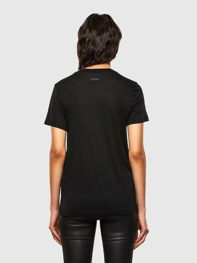 Diesel - T-SILY-V26, Schwarz - T-Shirts - Image 2