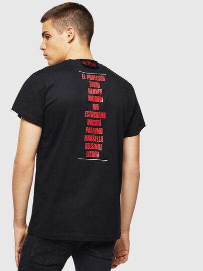 Diesel - LCP-T-DIEGO-CASA, Schwarz - T-Shirts - Image 3