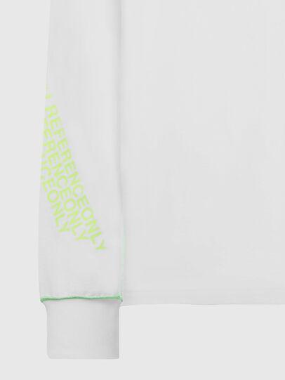 Diesel - T-JUSEAM-LS, Weiß - T-Shirts - Image 3