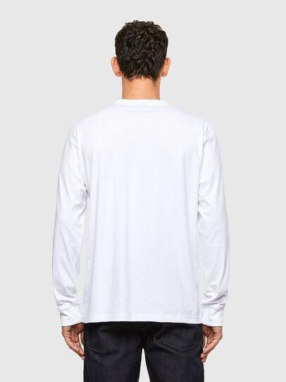 Diesel - T-JUST-LS-A1, Bianco - T-Shirts - Image 2