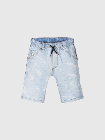 Diesel - KROOLEY-NE-J SH, Bleu Clair - Shorts - Image 1