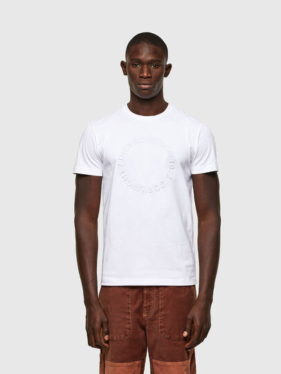 Diesel - T-DIEGOS-A2, Bianco - T-Shirts - Image 1
