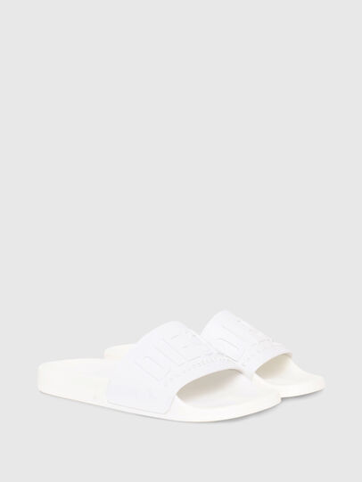 Diesel - SA-MAYEMI W, White - Slippers - Image 2