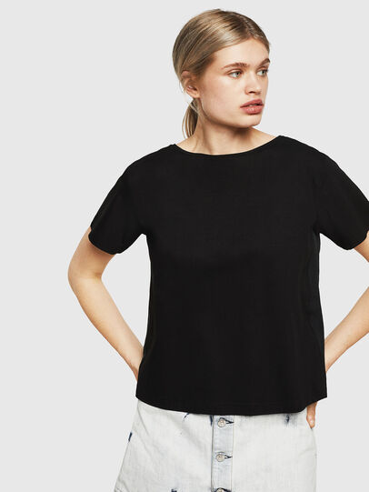 Diesel - T-RYLY, Schwarz - T-Shirts - Image 1