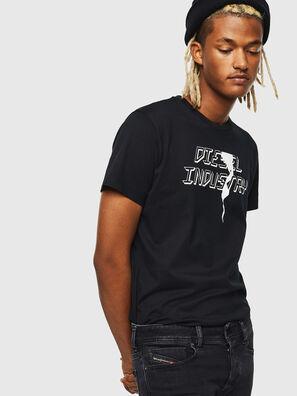 T-DIEGO-J25, Schwarz - T-Shirts