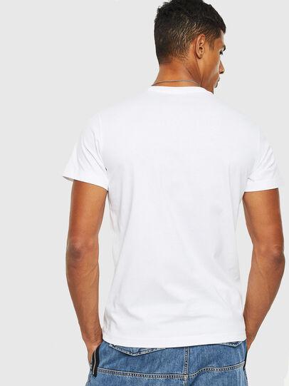 Diesel - T-DIEGO-S13, Weiß - T-Shirts - Image 2
