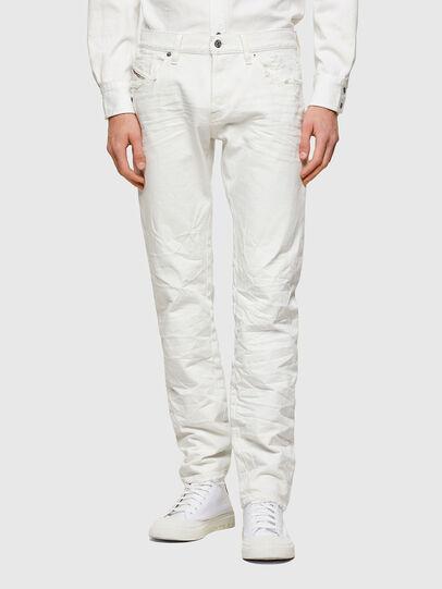 Diesel - D-Kras 0HBAJ, Blanc - Jeans - Image 1