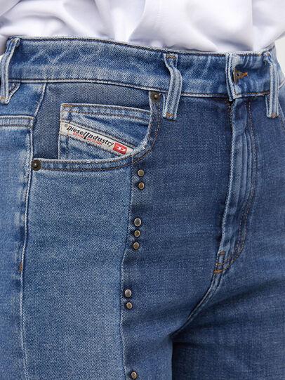 Diesel - D-Eiselle JoggJeans 009KP, Hellblau - Jeans - Image 4