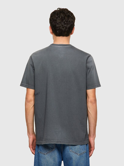 Diesel - T-JUST-B64, Grigio - T-Shirts - Image 2